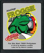 Froggie POKEY Version (You Supply POKEY) - Atari 7800
